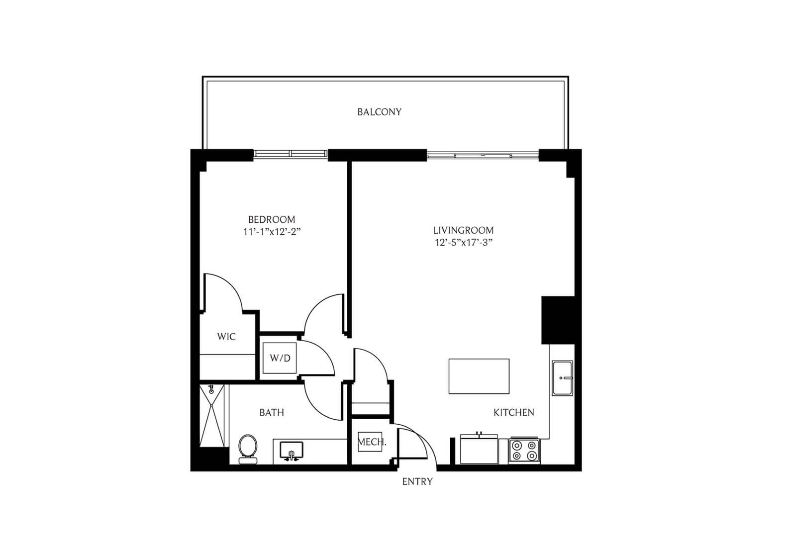 Coral Gables 1 Bedroom